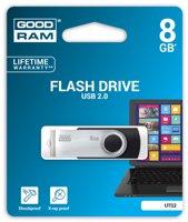 Storage Goodram Flashdrive 'Twister' 8GB USB2.0 Black