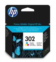 HP 302 originele drie-kleuren inktcartridge
