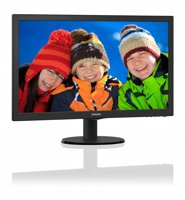 TFT Philips 23.6Inch F-HD  / DVI / HDMI / SPK / 25MS / BLACK