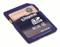 Kingston Technology 8GB SDHC Card